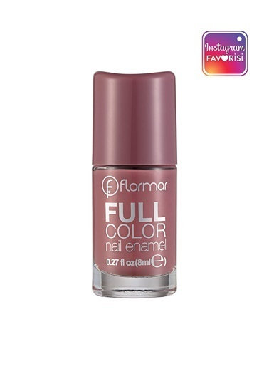 Flormar Flormar Full Color Berry Brown 62 Oje Renkli